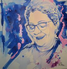 Pintura de Paulo Branco