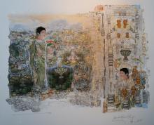 Pintura de Mário Gravem Borges e Jadsonchic